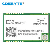 Wireless RF Module SMD 915MHZ SX1276 SX1278 E32-915T20S LoRa Long Range Transceiver 915 MHz IoT Long Distance IPEX Interface(China)