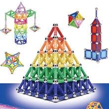350 pçs engraçado magnético blocos de construção varas conjunto brinquedo educativo para crianças meninos meninas aniversário presente natal