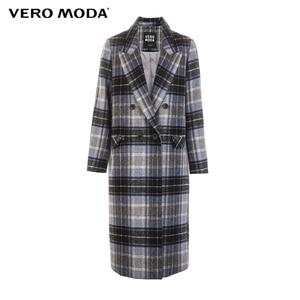 Image 5 - معطف نسائي من Vero Moda بطية صدر منقوشة وطويل من الصوف المستقيم