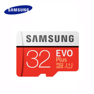 Image 1 - SAMSUNG EVO Plus Micro SD Speicher Karte 32GB 64GB 128GB 256GB SDHC/SDXC U3 C10 UHS I 4K HD TF Karte für Smartphone, tablet, etc