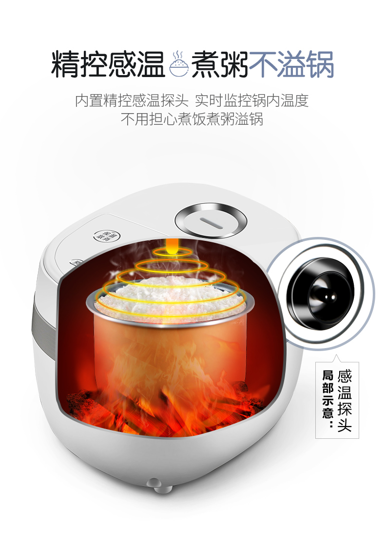 Rice Cooker Home Smart Mini Rice Cooker Single Small Dormitory 1-2 People 13