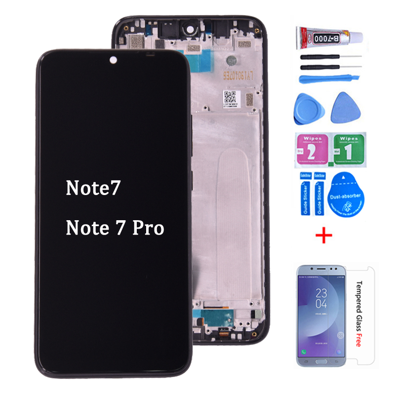 Original For Xiaomi <font><b>Redmi</b></font> <font><b>Note</b></font> 7 <font><b>LCD</b></font> Display with Touch Screen Digitizer Assembly Replacement For <font><b>Redmi</b></font> Note7 <font><b>Pro</b></font> <font><b>LCD</b></font> image