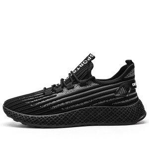 Image 2 - スポーツ靴男性秋と冬の新ファッションに低ヘルプメッシュ通気性トレンド男性靴スニーカー
