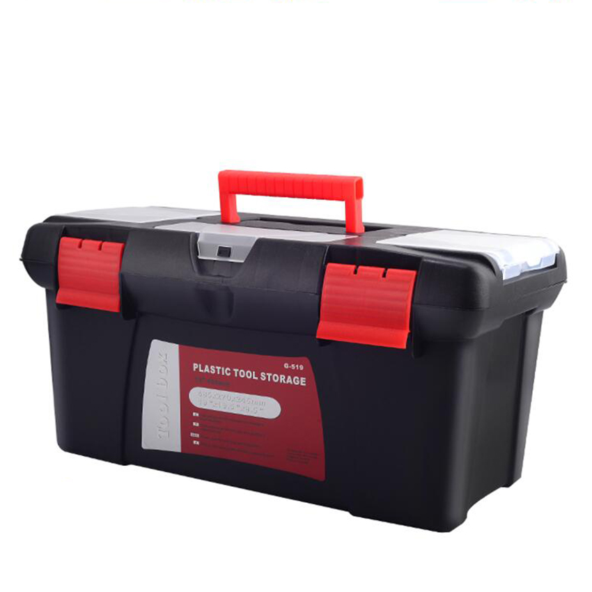 10/12/14/17 Inch Multifunctional Tool Parts Hardware And Tools Tool Storage Box Plastic Tool Box Electrician Box