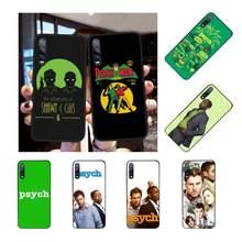 Nbdruicai psych shawn e gus capa de telefone para huawei honor 20 10 9 8 8x 8c 9x 7c 7a lite vista