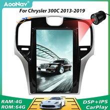 PX6 pionowy ekran Radio samochodowe 2 Din nawigacja GPS dla Chrysler 300C 2013 2014 2015 2016 2017 2018 2019 Audio Multimedia odtwarzacz