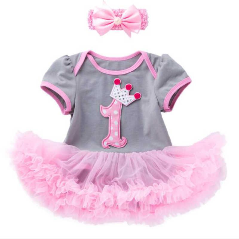Детский костюм на Хэллоуин, милые комплекты одежды для малышей, комбинезон с юбкой-пачкой + повязка на голову для маленьких девочек, 1 год, одежда для дня рождения