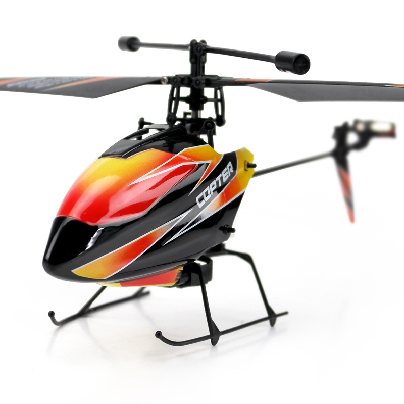 Weili V911 2.4G Stand-up Remote Control Aircraft Four-Channel Stand-up Inverted Remote Control Aircraft Large Helicopter Airplan