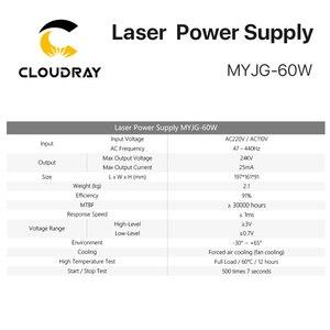 Image 4 - Cloudray 60W CO2 לייזר אספקת חשמל עבור CO2 לייזר חריטת מכונת חיתוך MYJG 60W קטגוריה