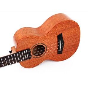Image 5 - Enya MAD ukulele Tenor concert Solid Mahogany ukulele 23/26inch Blue uku Black Hawaii 4 string guitar musical instruments