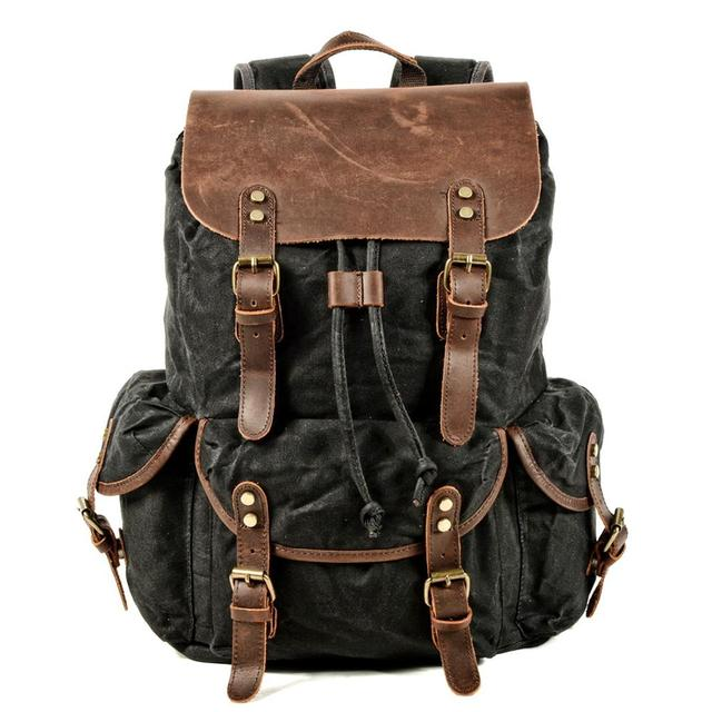 мужской рюкзак для ноутбука compart мужской в деревенском стиле фотография
