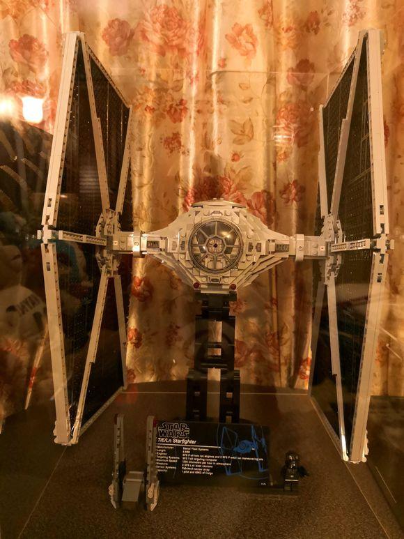 En STOCK 05036 1685 pièces Star Wars série TIE Fighter modèle blocs de construction briques enfants jouets de noël cadeaux 75095