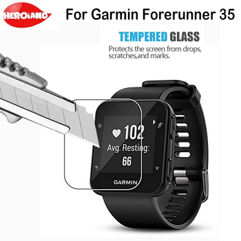 цена Tempered Glass For Garmin Forerunner 35 Protective Film For Smart Watch Screen Protector For Garmin Forerunner 35 Protection онлайн в 2017 году