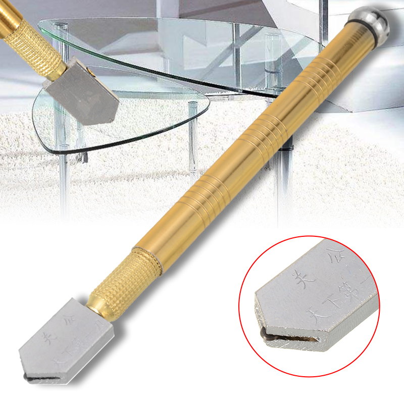 1pc Construction Tool Glass Cutter Sharp Wheel Blade Glass Diamond Cutting Tool Hard Alloy DIY Tile Mirror Repair Cutting