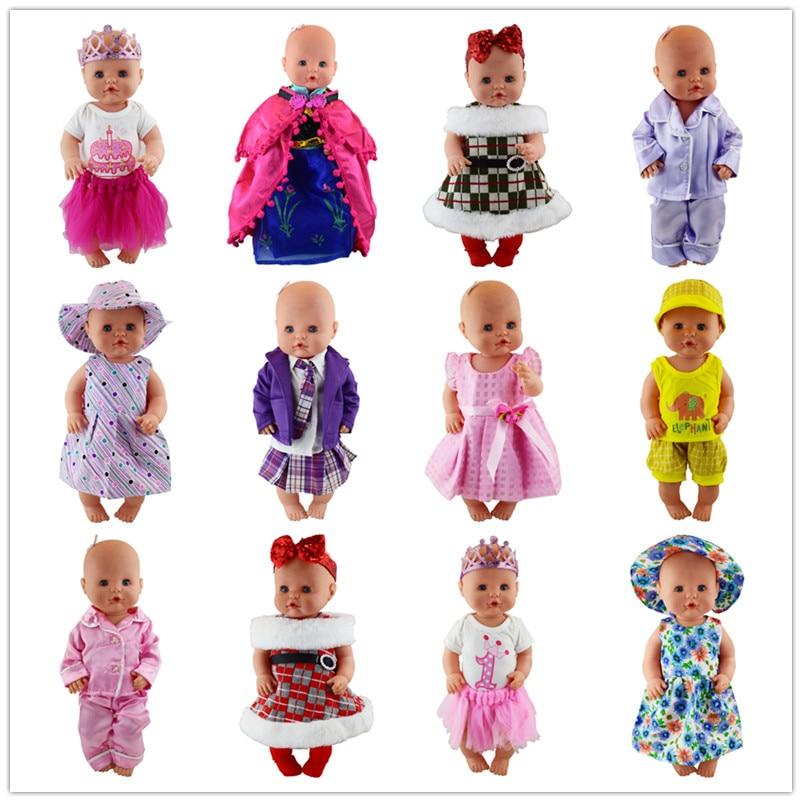 15 видов кукольной одежды, подходит для куклы Nenuco шириной 42 см, аксессуары для кукол Nenuco su Hermanita