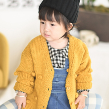 Cardigan Sweater Girl Winter Child Ball for 17 Jacket Hand-Down 1-3-Years-Old
