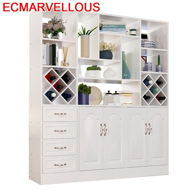 Cristaleira Mobili Per La Casa Salon Hotel Meuble Display Kitchen Rack Table Shelf Commercial Furniture Bar Wine Cabinet
