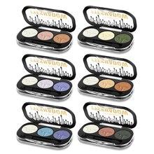 3-Color Matte Pearlescent Eyeshadow Palette Nude Earth Color Pigment Long Lasting Waterproof Sweatproof Beauty Makeup Eye Shadow