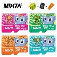 Mixza-cartão de memória sd, original, 256gb, 128gb, 64gb, 32gb, u3, 80 mb/s