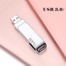 Banq max usb flash drive 64g metal pendrive alta velocidade usb3.0 memória vara 128g pen drive capacidade real 256g usb flash u disk32g