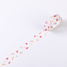 1 5cm 5m 1 Pcs We Love Fruit Design Watermelon and Banana Style Washi Tape DIY Scrapbook Sticker Label Masking Home Decor cheap RJAilisi as show note dector China