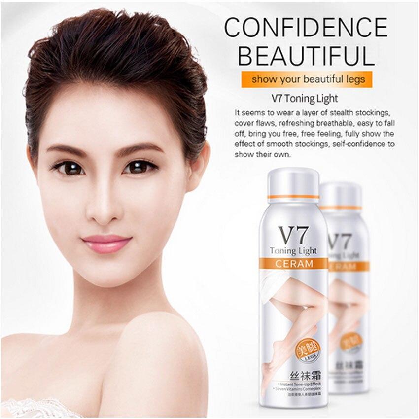 BIOAQUA V7 Body Foundation Sunscreen Concealer Moisturizing Hydrating BB Cream Legs Hand Summer Brighten Skin Whitening Spray