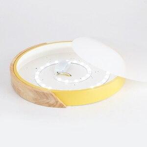 Image 5 - Luzes de teto led ultra fino moderno lâmpada do teto nordic regulável sala estar quarto luz redonda luminária superfície montado