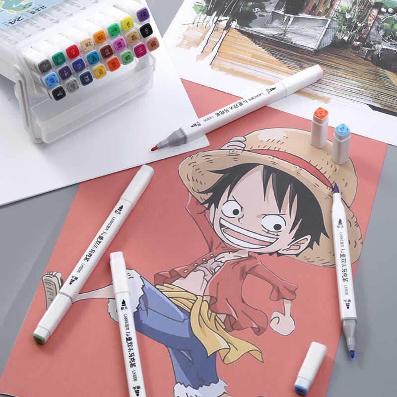 Chenyu 12 18 24 36 個の色マーカー洗えるブラシペン絵画水彩子供のためのアートマーカーペン学校