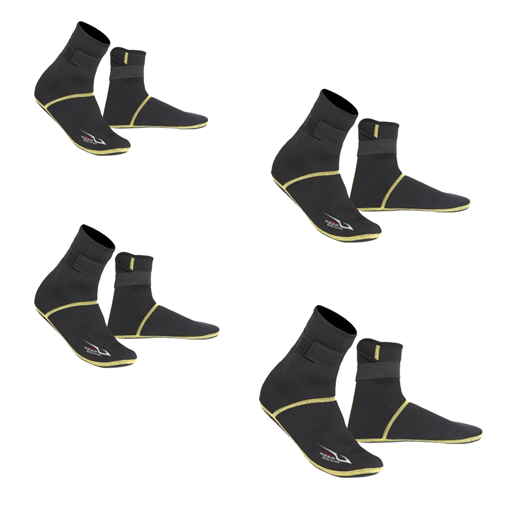 Non-slip Neoprene High Cut Swimming Surfing Beach Diving Socks Snorkeling Fin Scuba Diver Shoes Booties