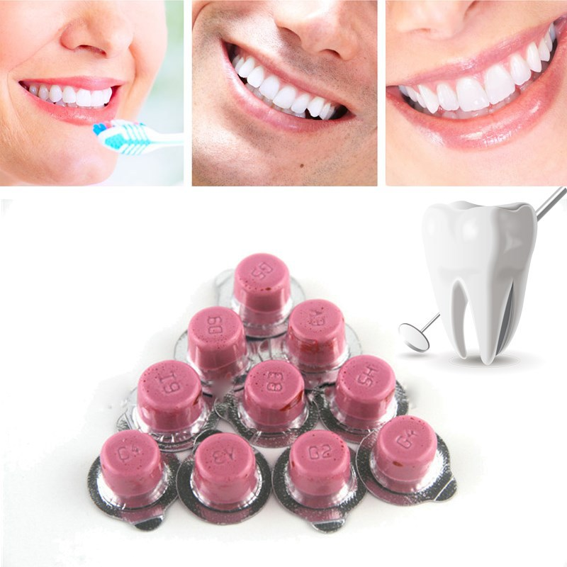 1PC Dental Teeth Whitening Polisher Whitener Mint And Cotton Candy Flavors White Smile Tooth Polishing Paste