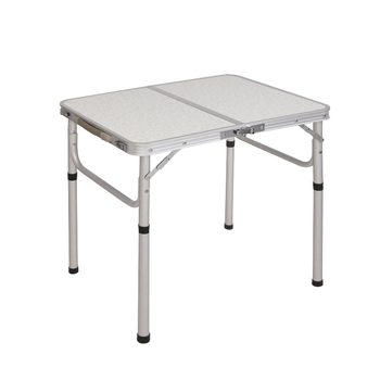 Lightweight Aluminum Folding Camping Table with Handle Laptop Bed Desk Portable Adjustable Outdoor Tables BBQ Simple Water-proof