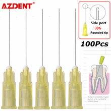 Aiguille d'irrigation dentaire Endo 100 aiguille d'irrigation latérale pour Canal radiculaire dentaire