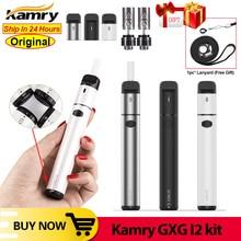 Оригинальный комплект электронной сигареты Kamry GXG I2, вейп с нагревательной палочкой, батарея 1900 мАч, испаритель для сухой травы, комплект электронной сигареты VS 2,0 Plus ico