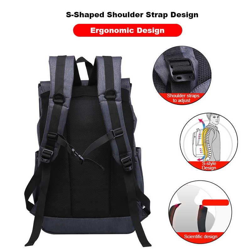 Anti Theft USB Backpack Men High School Backpack Waterproof School Bags For Boys Big Bag Men Travel Bags Schoolbag Boy Gift