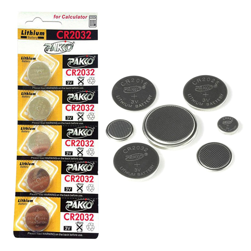 Hot 5pcs CR2032 CR <font><b>2032</b></font> Lithium Li-ion 3V Button Cell Coin <font><b>Battery</b></font> BR2032 ECR2032 L2032 Big Promotion image