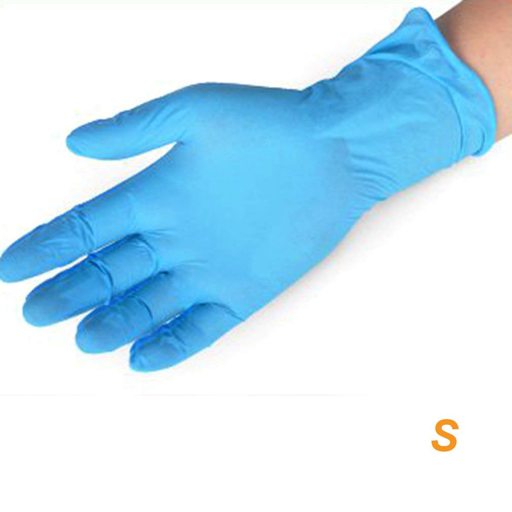 Ammex Disposable Rubber Gloves Nitrile Industrial Experiment Cleaning And Durable Rubber Gloves Beauty Housework Gloves