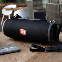 Portable Bluetooth Speaker 40w Wireless Bass Column Waterproof Outdoor Speaker Support AUX TF USB Subwoofer Stereo Loudspeaker(China)