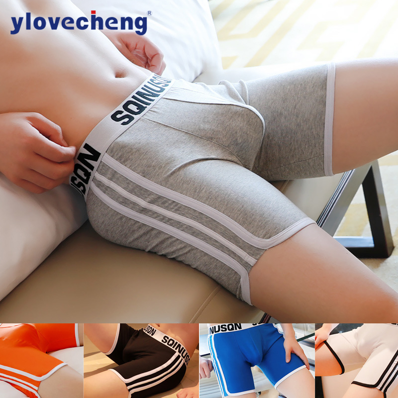 Sports Shorts Mens Underwear Pants Cotton Long Shorts Loose Shorts Fashion Underwear Popular Underwear Mens Underwear