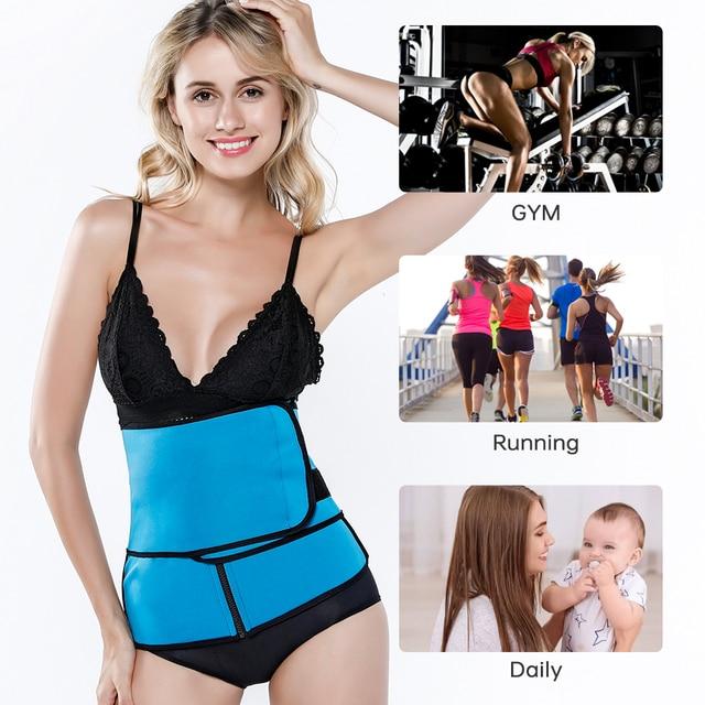 Waist Trainer Body Shaper Thermo Sweat Belt Girdle Corset Women Waist Trainer Reducing Shapers Slimming Trimmer Belt 1