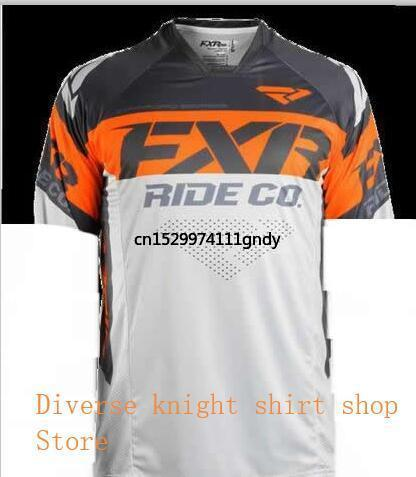 New Summer Mtb Jersey Motorcycle MX Bike Off-road Motocross Jersey Short-sleeved Breathable Quick-drying Downhill Jersey