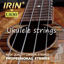 U630 New 4 Pcs/set Strings Replacement Part 0.56/0.71/0.81/0.56mm  Stringed Instrument white Nylon Ukulele цена