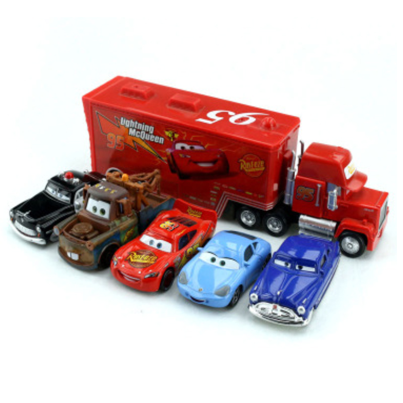 Genuine Disney Pixar Cars Classic 6 Cars Gift Set Lightning