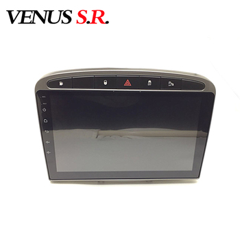 VenusSR Android 8.1 2.5D car dvd for peugeot 308 408 2010-2014 multimedia headunit GPS Radio stereo gps navigation image