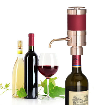 VOGVIGO Electric Decanter Wine Pourer Wine Decanter Homebrew Pump Style Cider Appliance Wine Aerator Wine Bottle Bar Accessories