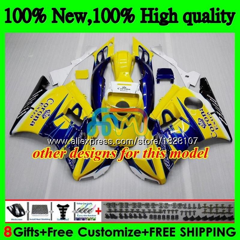 CBR carenagens + Tanque Para HONDA CBR 600CC 600F3 600 FS Hot Cinza branco 95 96 1995 1996 3BS. 20 CBR600 F3 CBR600F3 97 98 1997 1998 Kit - 6