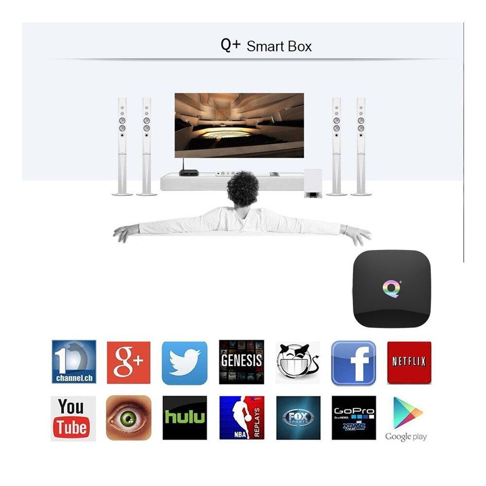 Q Plus Smart TV Box Android 9.0 TV Box 4GB Ram 32GB 64GB Rom 6K H.265 USB3.0 Netflix Allwinner H6 PK T95Q S905x2 Set Top Box
