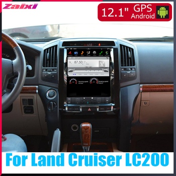 For Toyota Land Cruiser LC200 2008 2009 2010 2011 2012 2013 2014 2015 Car Multimedia GPS Radio vertical screen tesla Radio Video