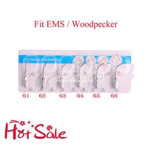 Image 2 - Dental Ultrasonic Scaler Tips G1 G6 Compatible EMS Woodpecker Handpiece  Teeth Whitening Dental Equipment