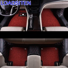 Interior Accessory Parts Protector Mouldings Styling Accessories Decorative car auto Carpet Floor Mats FOR Cadillac XTS