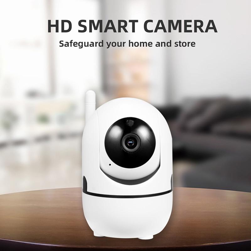 YCC365 Baby Monitor IP Camera Auto Tracking HD1080p Home Wifi Camera Security Surveillance CCTV Camera Children Accompany Robot